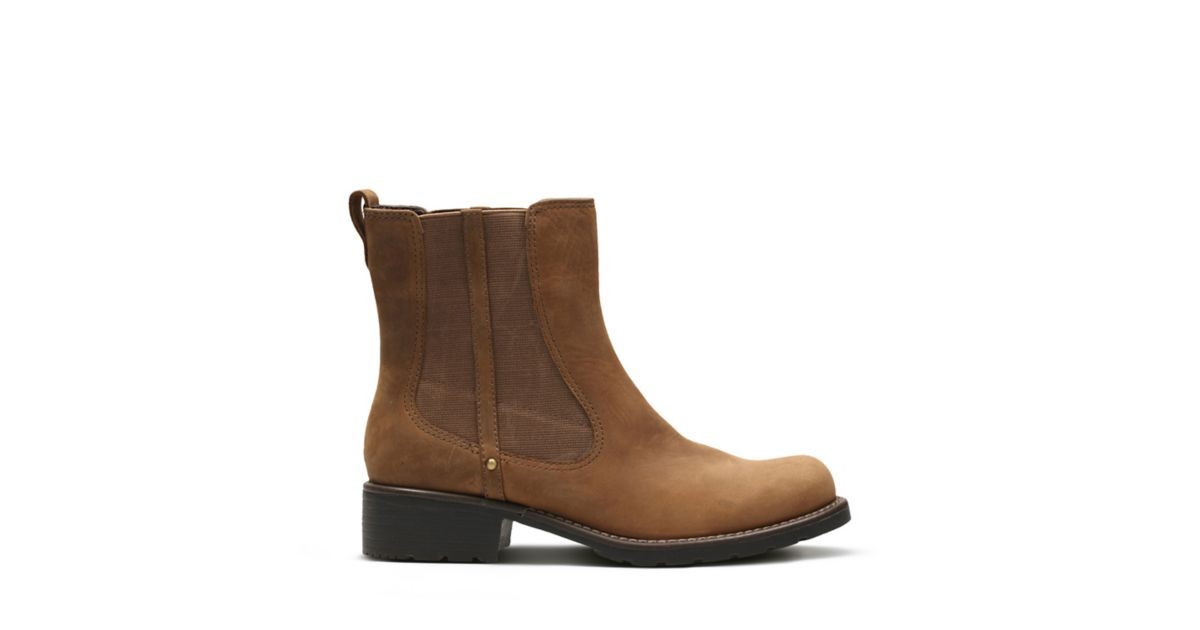 d3faa5a53833 Orinoco Club Brown Snuff - Women s Booties   Ankle Boots - Clarks® Shoes  Official Site