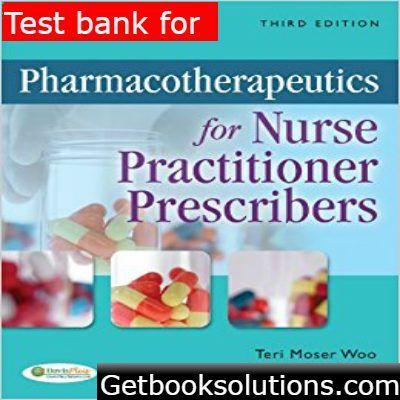Test Bank for Pharmacotherapeutics for Nurse Practitioner - express k amp uuml chen erfahrungen