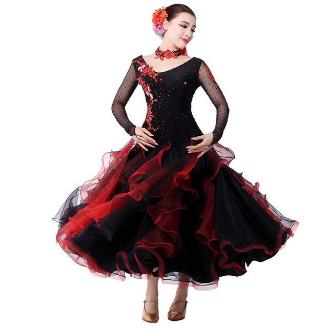Adult Ballroom Dance Dress Vestiti Standard Ballroom Dress ...