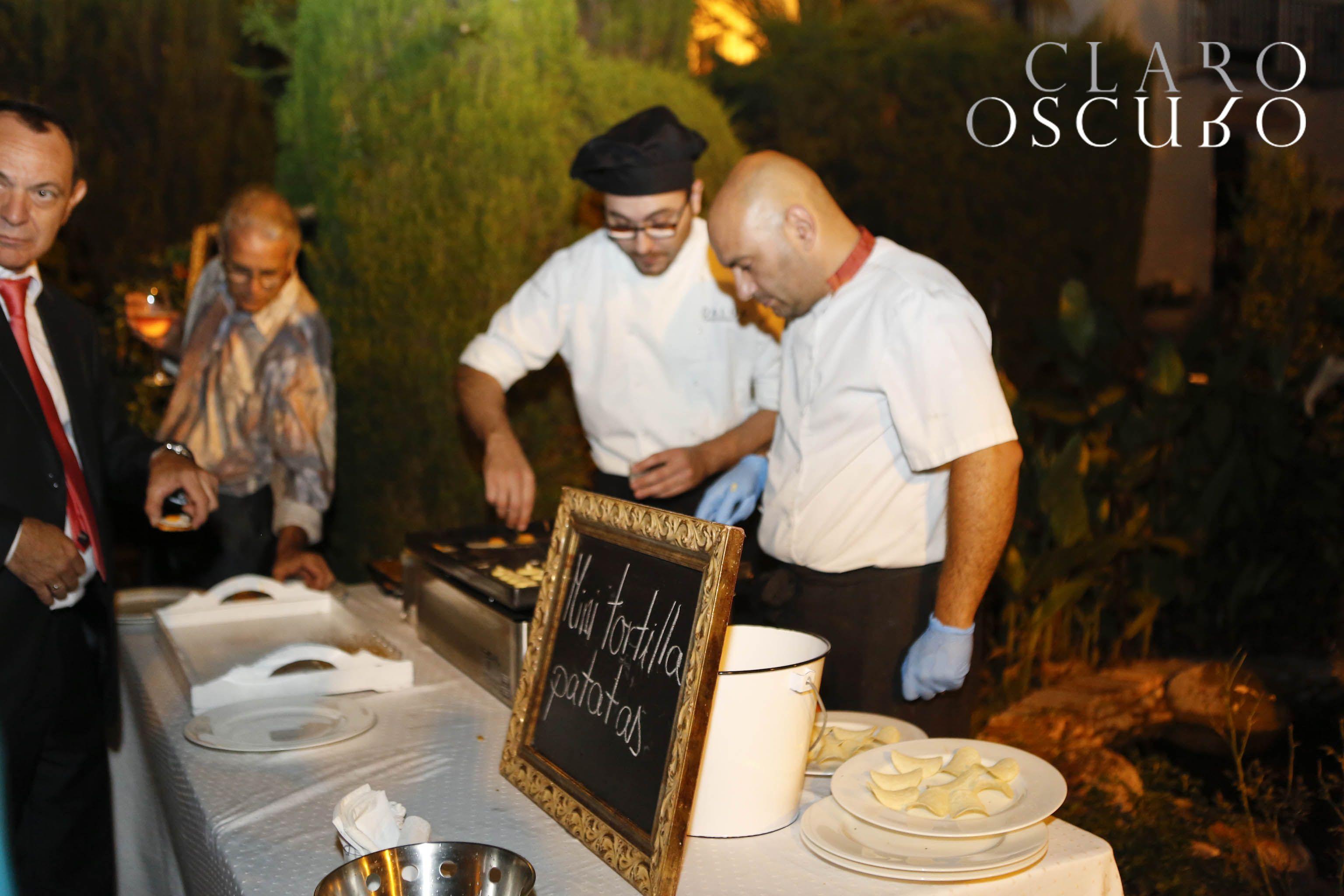 Mas show cooking para nuestros invitados