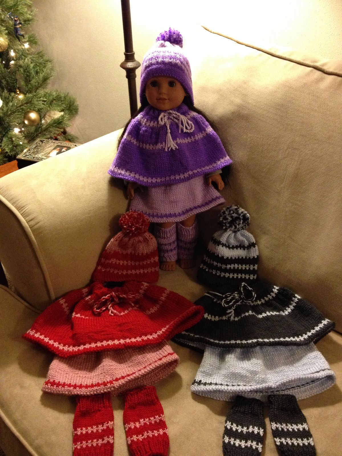 Ravelry: Doll Christmas Carol Outfit by Elaine Phillips