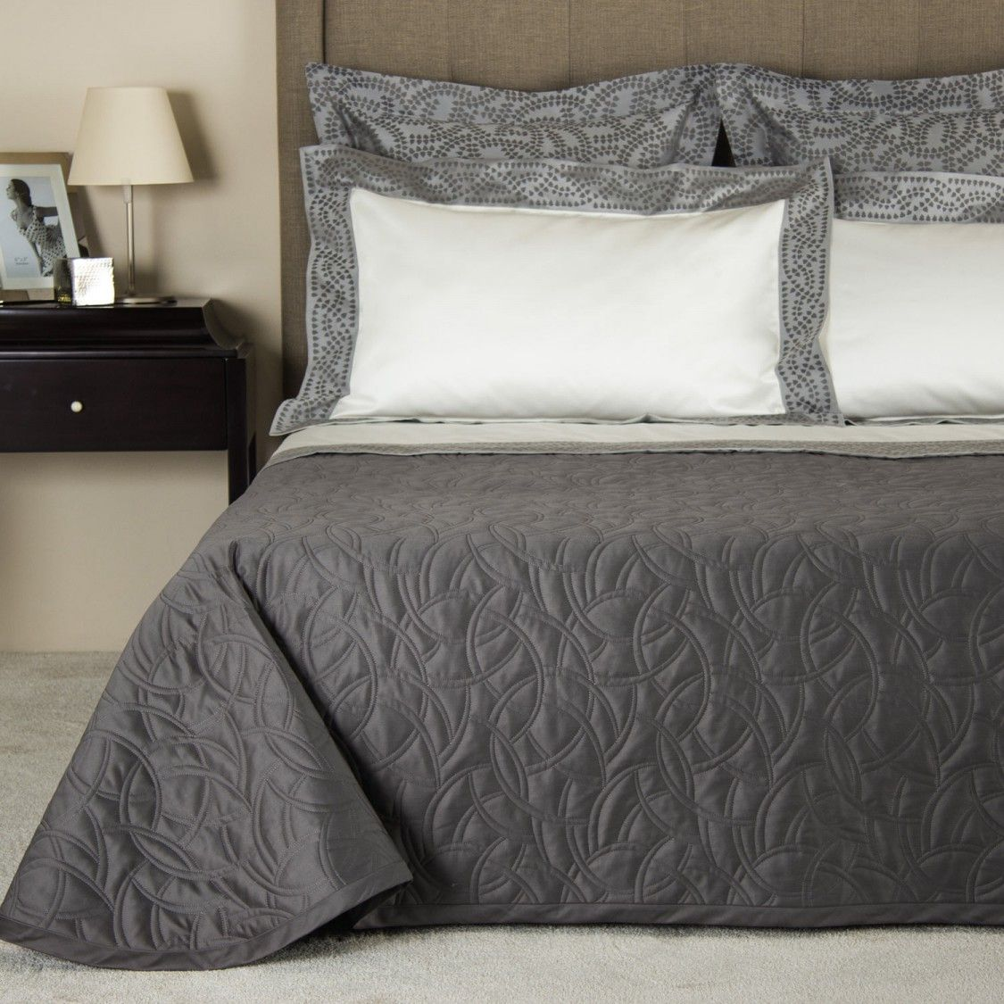 Gae and Doppio Ajour in Charcoal by Frette | Fall Winter 2015 ...
