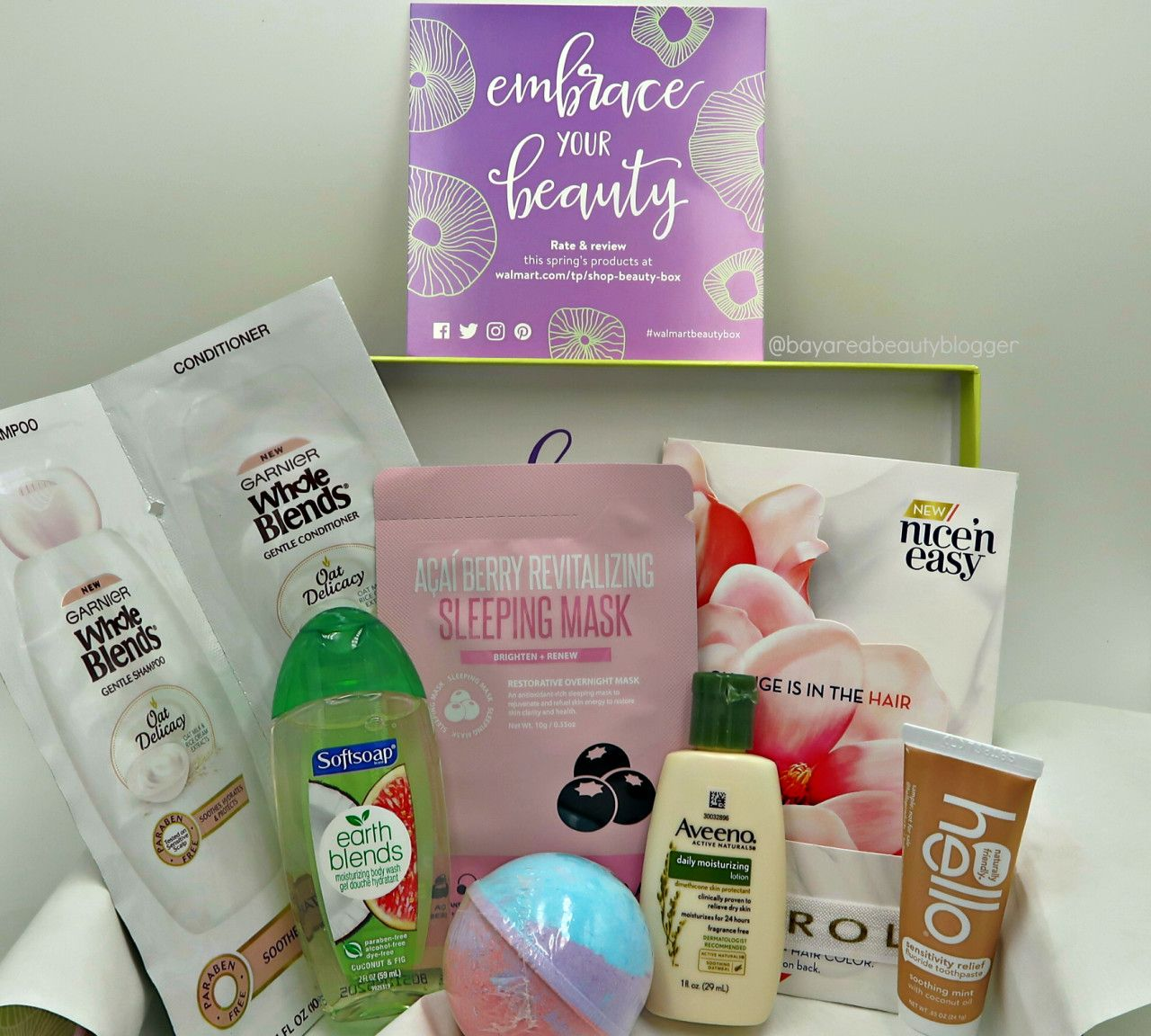 Only 5‼ Walmart Beauty Box Spring 2018 Unboxing and Review https