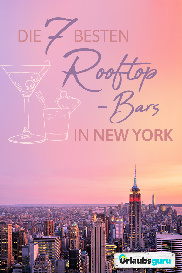 Die besten Rooftop-Bars in New York | Urlaubsguru