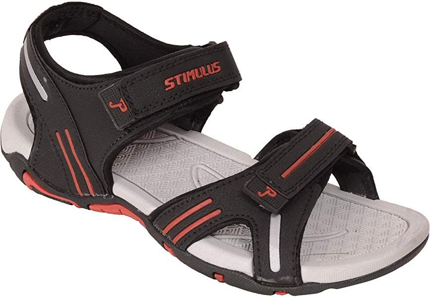 5c825dbb683b Paragon Men Black Red Floater Sports Sandal  Amazon.co.uk  Shoes   Bags