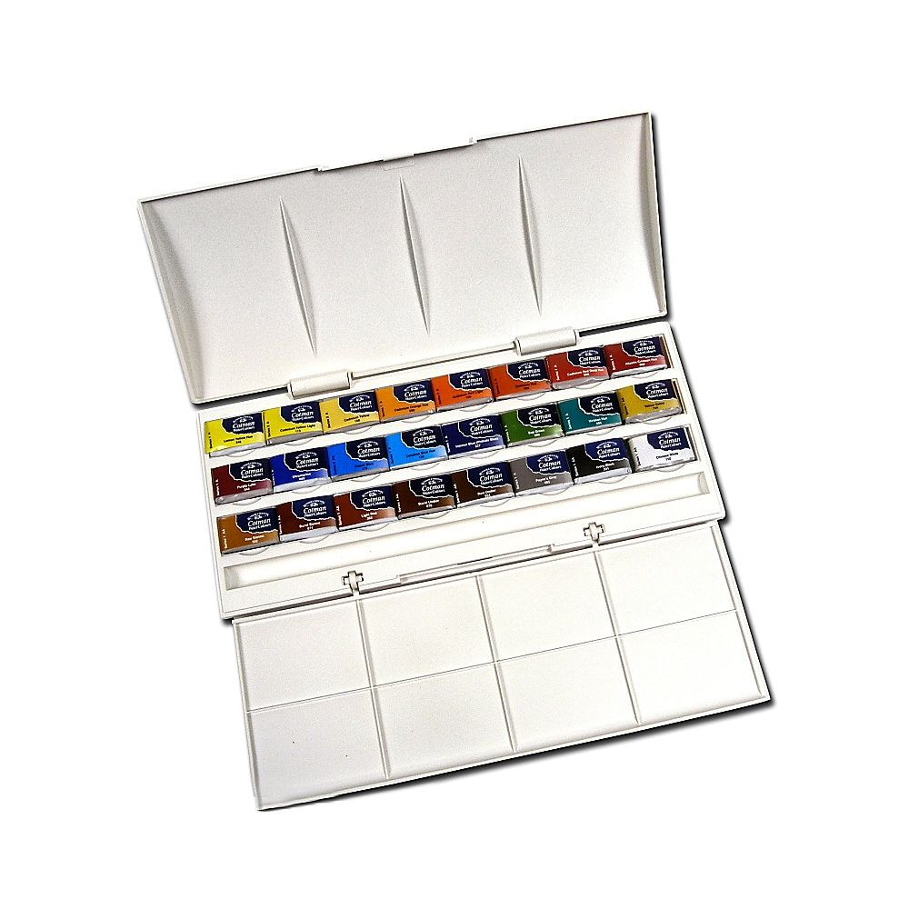 Winsor Newton Cotman Watercolor Studio Set Set Of 24