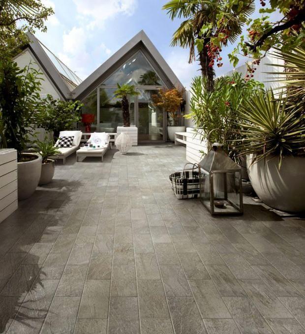 Mit Fliesen einrichten Fliesen für Terrasse und Balkon Fliesen - markisen fur balkon design ideen
