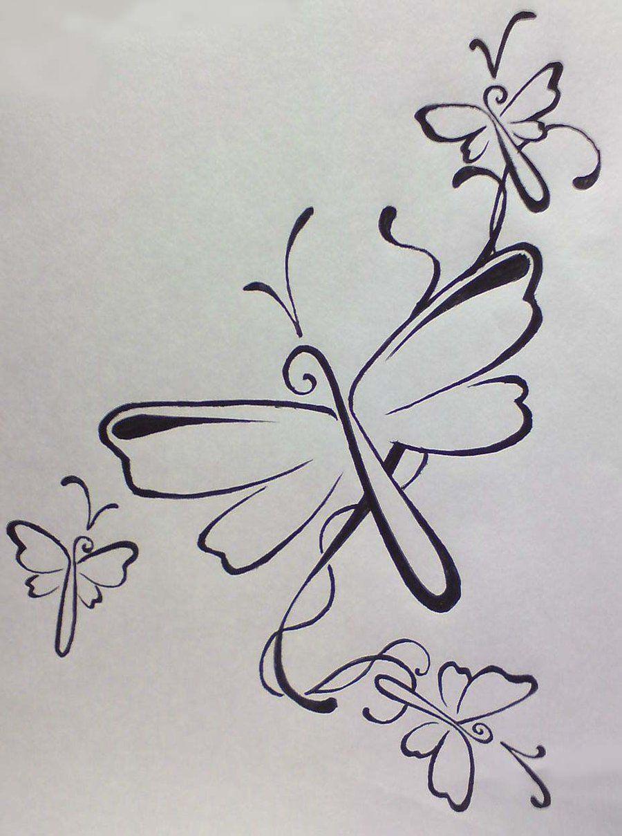 Dragonfly tattoo by chyulminviantart on deviantart body
