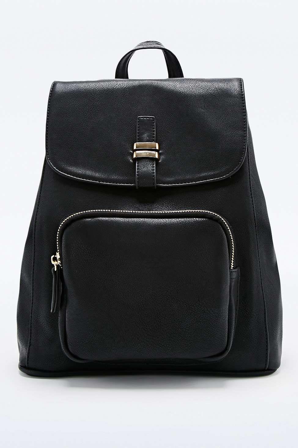 9931ee9bd1 Deena & Ozzy Clean Black Backpack | Education Propping | Backpacks ...