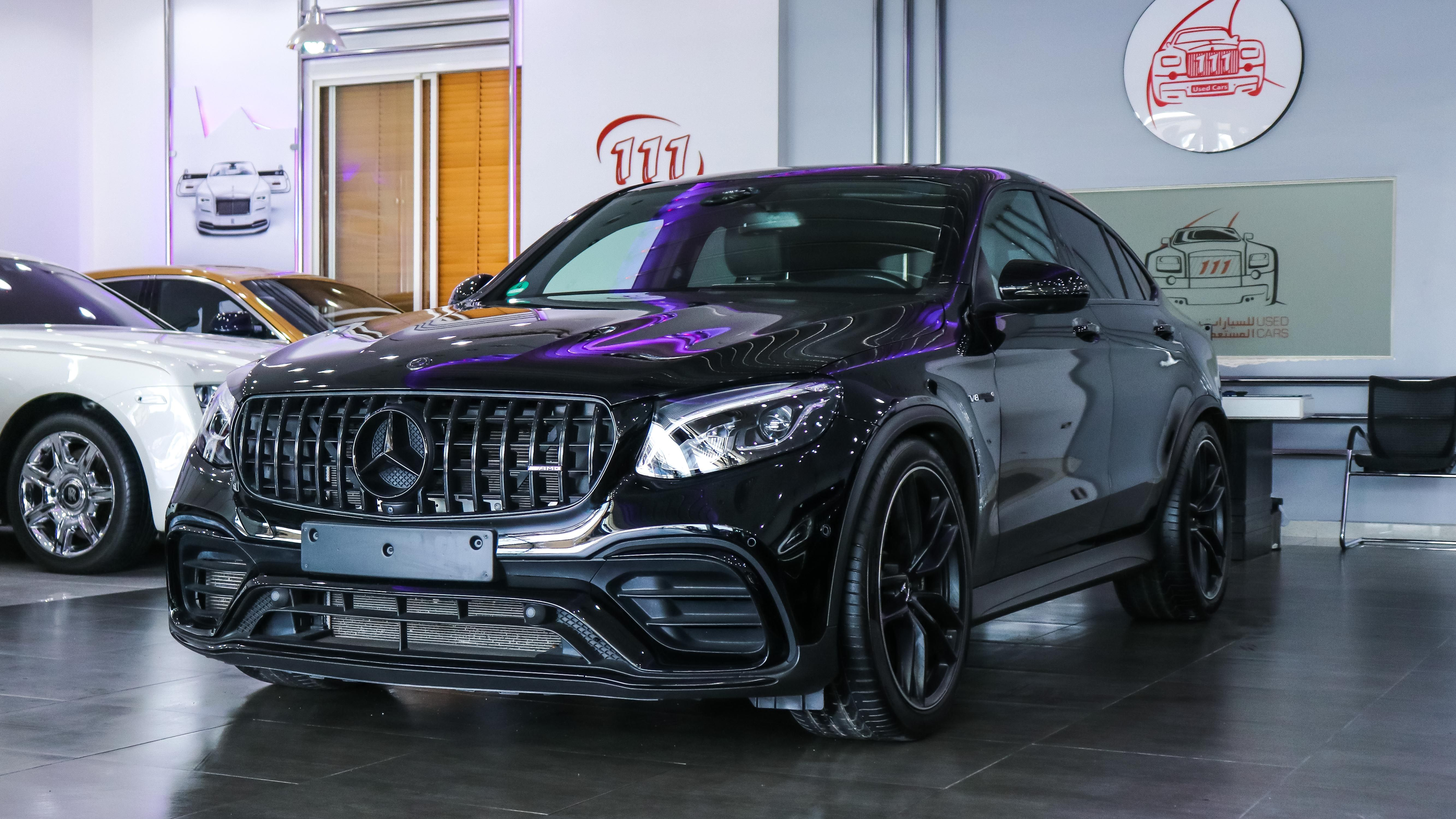 Model Mercedes Benz Glc 63 Black Edition 4matic V8 Biturbo