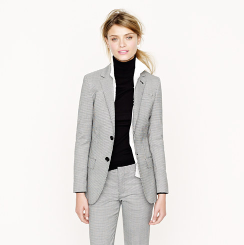 Womens Gray Suit With Turtleneck Layer My Style Pinterest