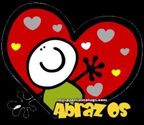 Montones de abrazos para ti #amor #love #i_love_you #te_quiero #te_amo