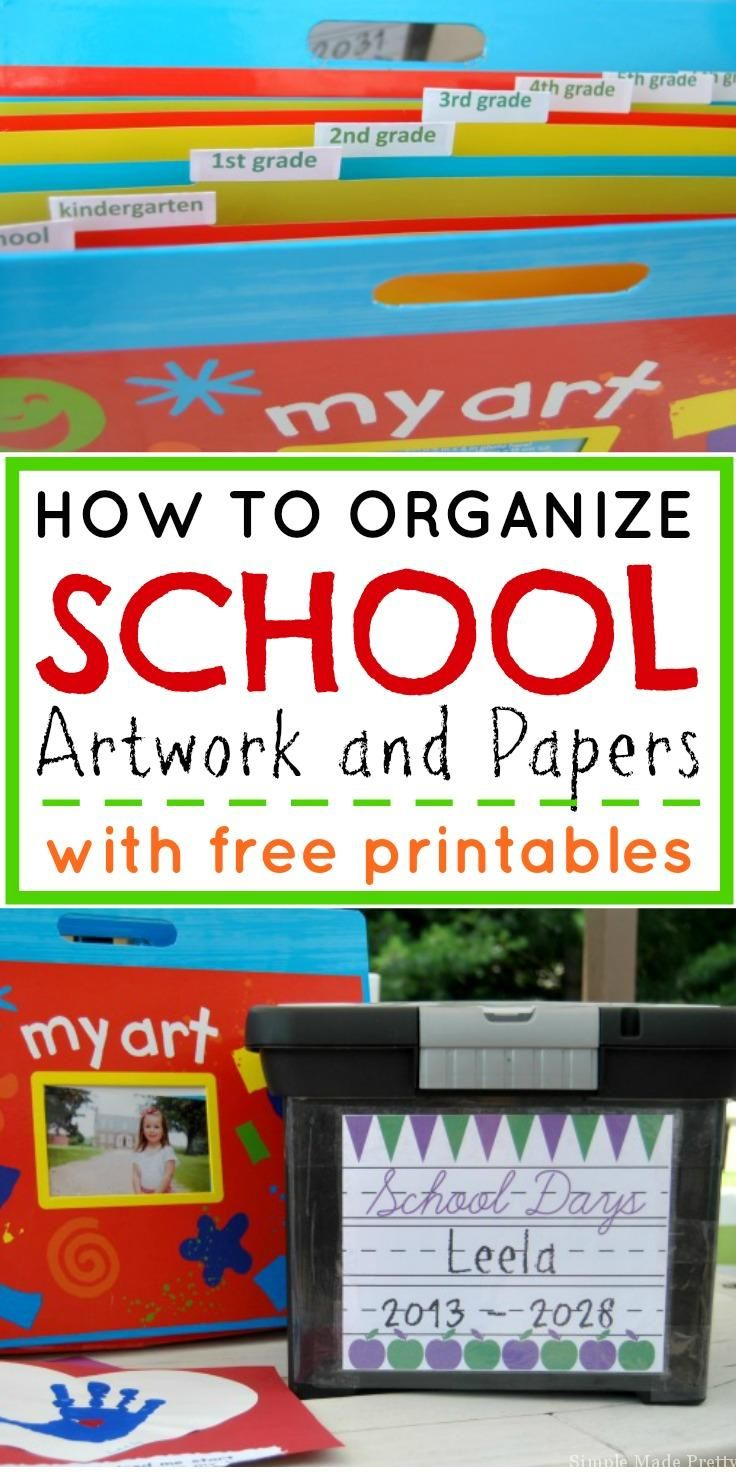 This Hack Will Organize Your Kid\'s School Papers In Minutes ...