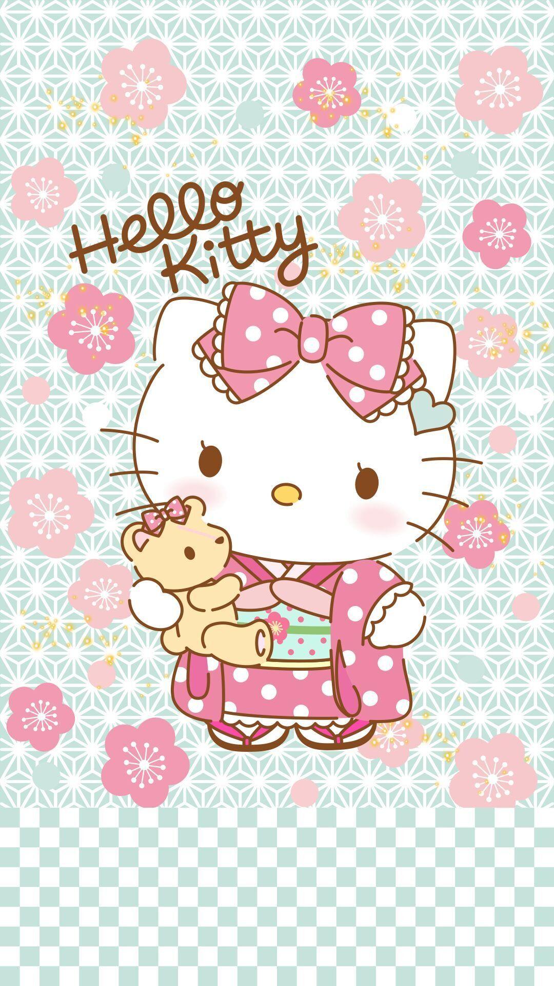 Amazing Wallpaper Hello Kitty Pattern - c5215348b9b1fcf555f82840e4d22f78  Pic_651882.jpg