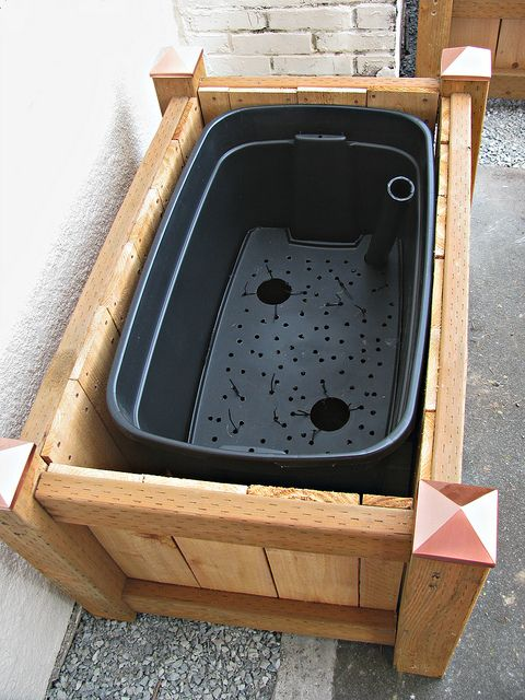 Self Watering Planter Box Garden Planter Boxes Self Watering Planter Diy Planters