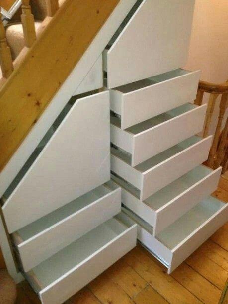 Epingle Par Manonchainey Sur Reno Idees Escalier Amenagement Escalier Meuble Sous Escalier