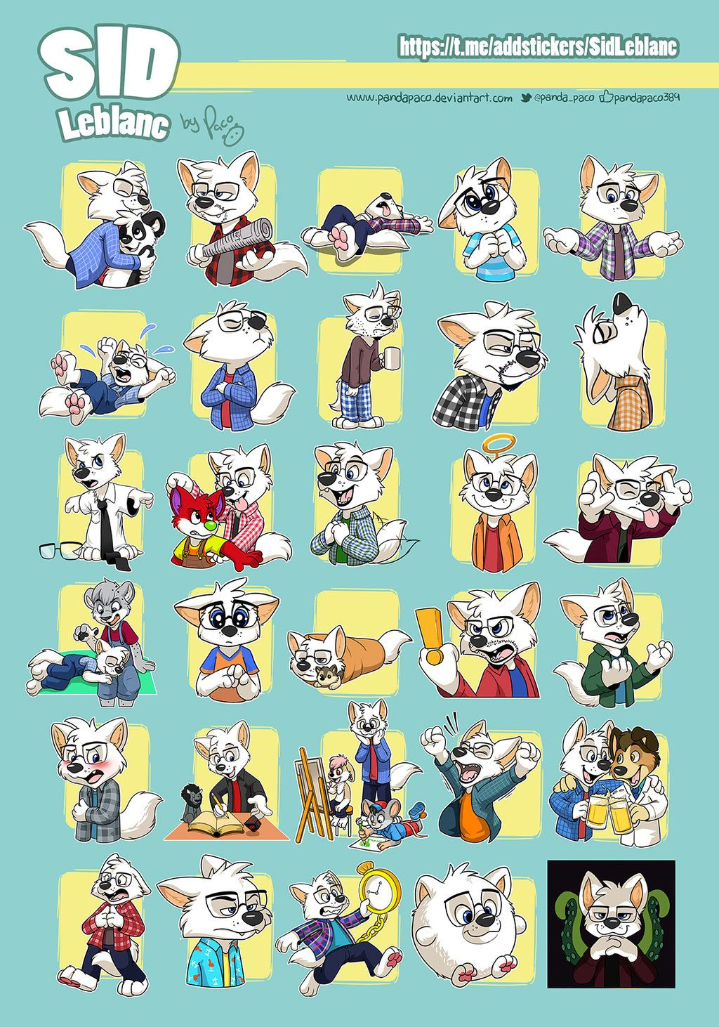 Sid telegram stickers by pandapaco | stickers in 2019