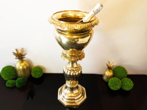 Your Place To Buy And Sell All Things Handmade Vintage Brass Champagne Buckets Hollywood Regency