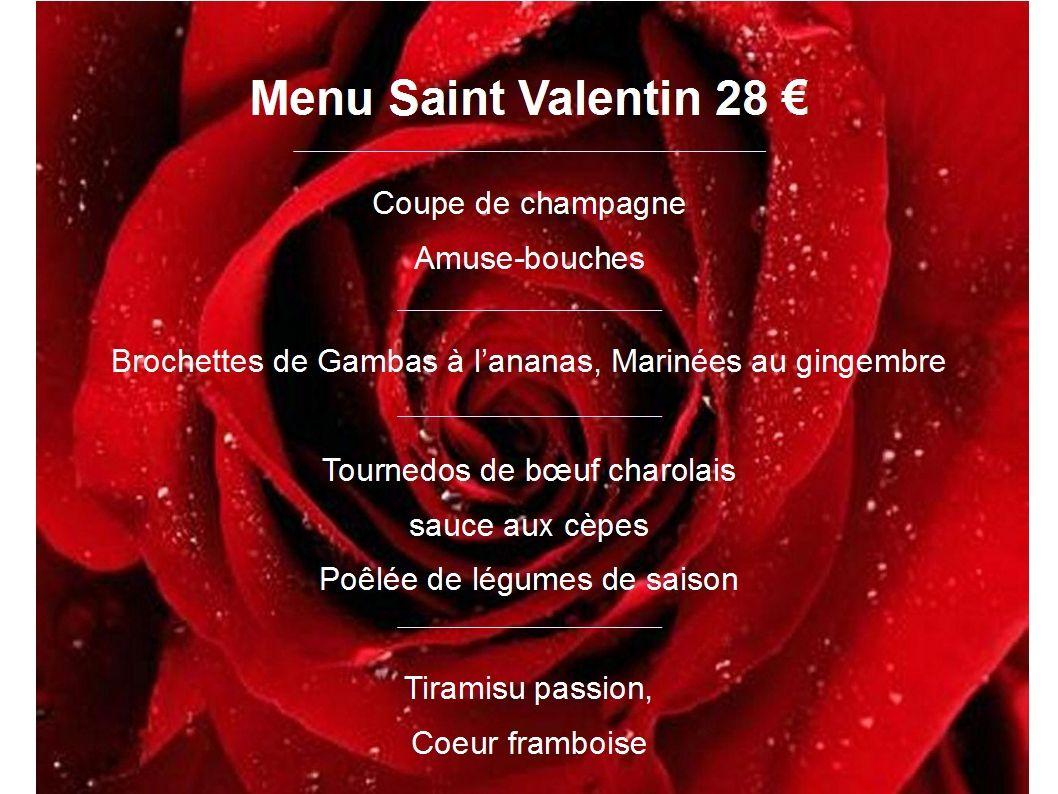 Idees Menu Saint Valentin Menu Saint Valentin Recette St Valentin Menu St Valentin