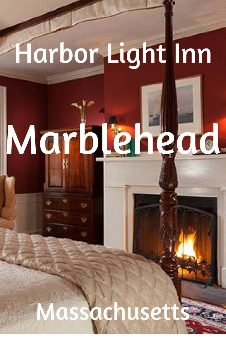 It Is Just So Pleasant At Harbor Light Inn, Marblehead, MA