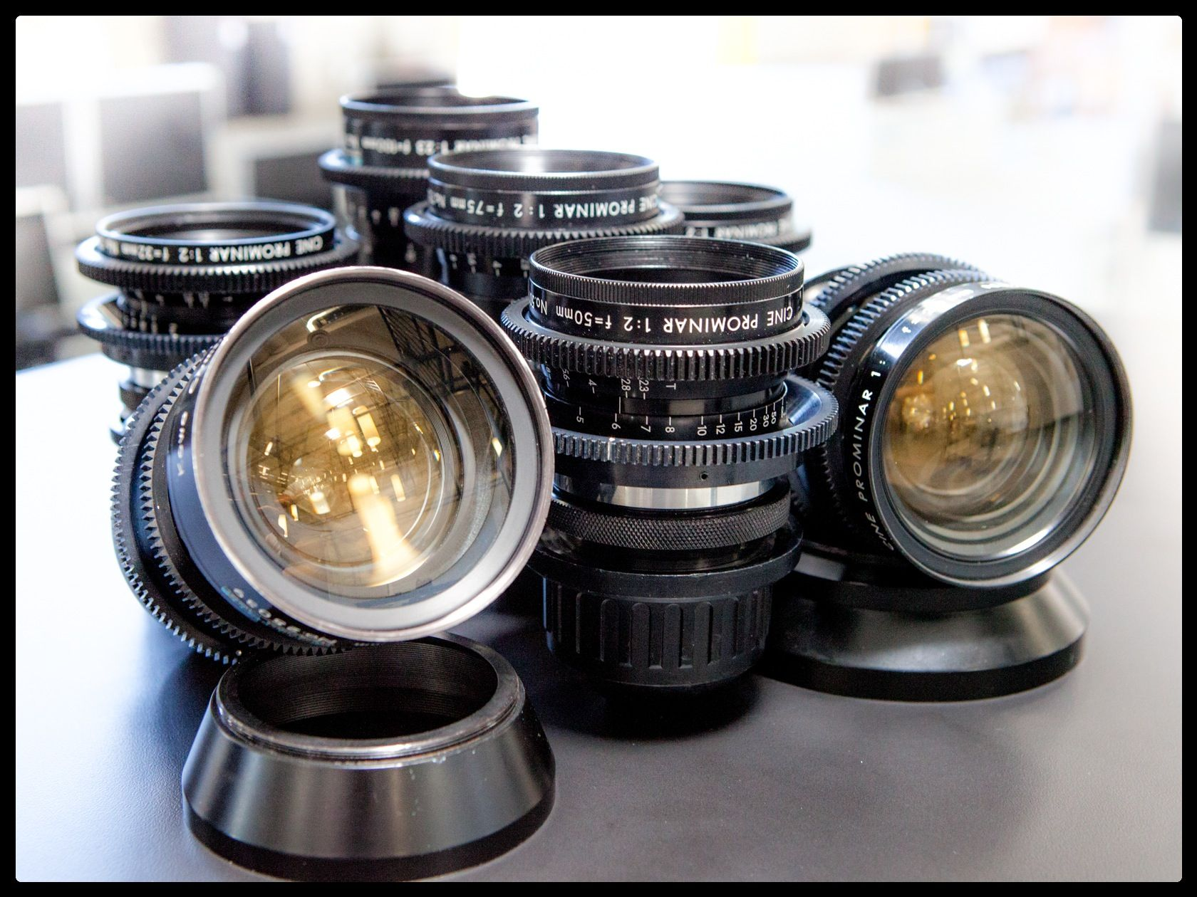 Get That Vintage Look You Re Seeking With Our Kowa Cine Prominar Spherical Primes Completely Overhauled And Ready To Work In Vintage Lenses Lenses Lens Flare