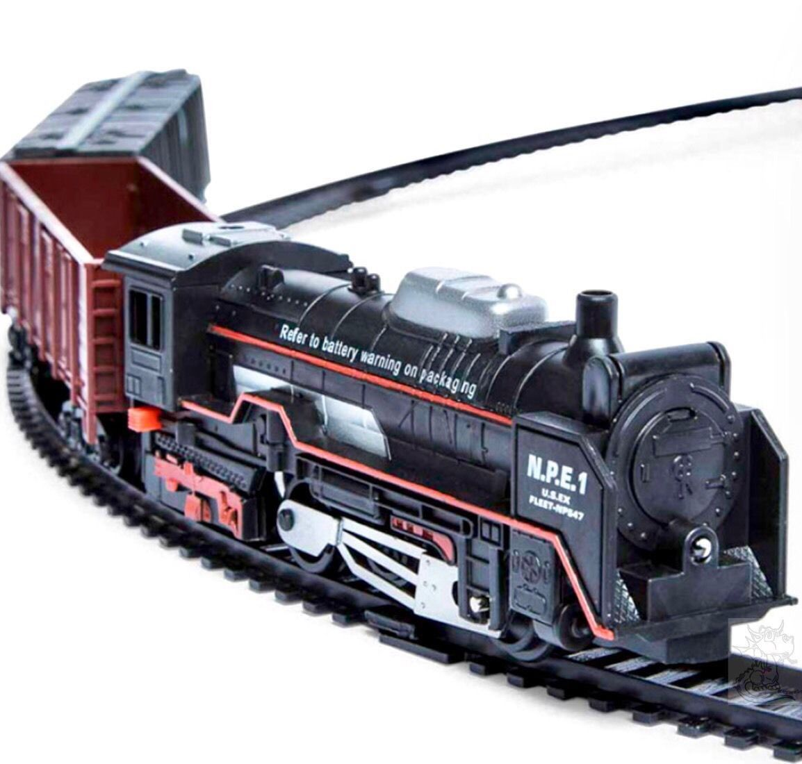 New item today Train Set Lights found at http