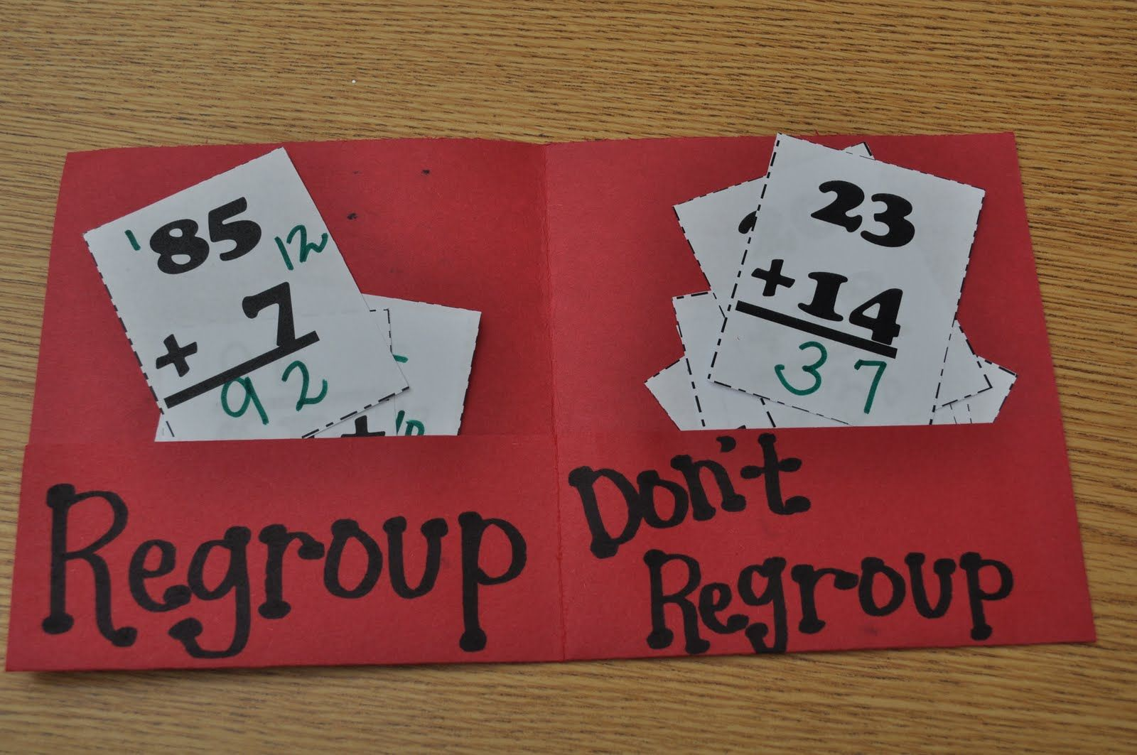 Adding With Without Regrouping Math School Math Activities Homeschool Math Addition and subtraction without