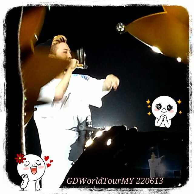 One night with Ji felt too short ♡♡ #GDragon #GDWorldTourMY