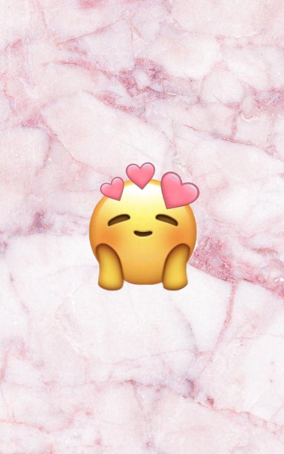 Épingler sur fond d'écran in 2020 Emoji wallpaper, Cute