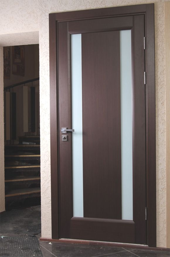 \ Stella\  Wenge Interior Door with Frozen Glass & Stella\