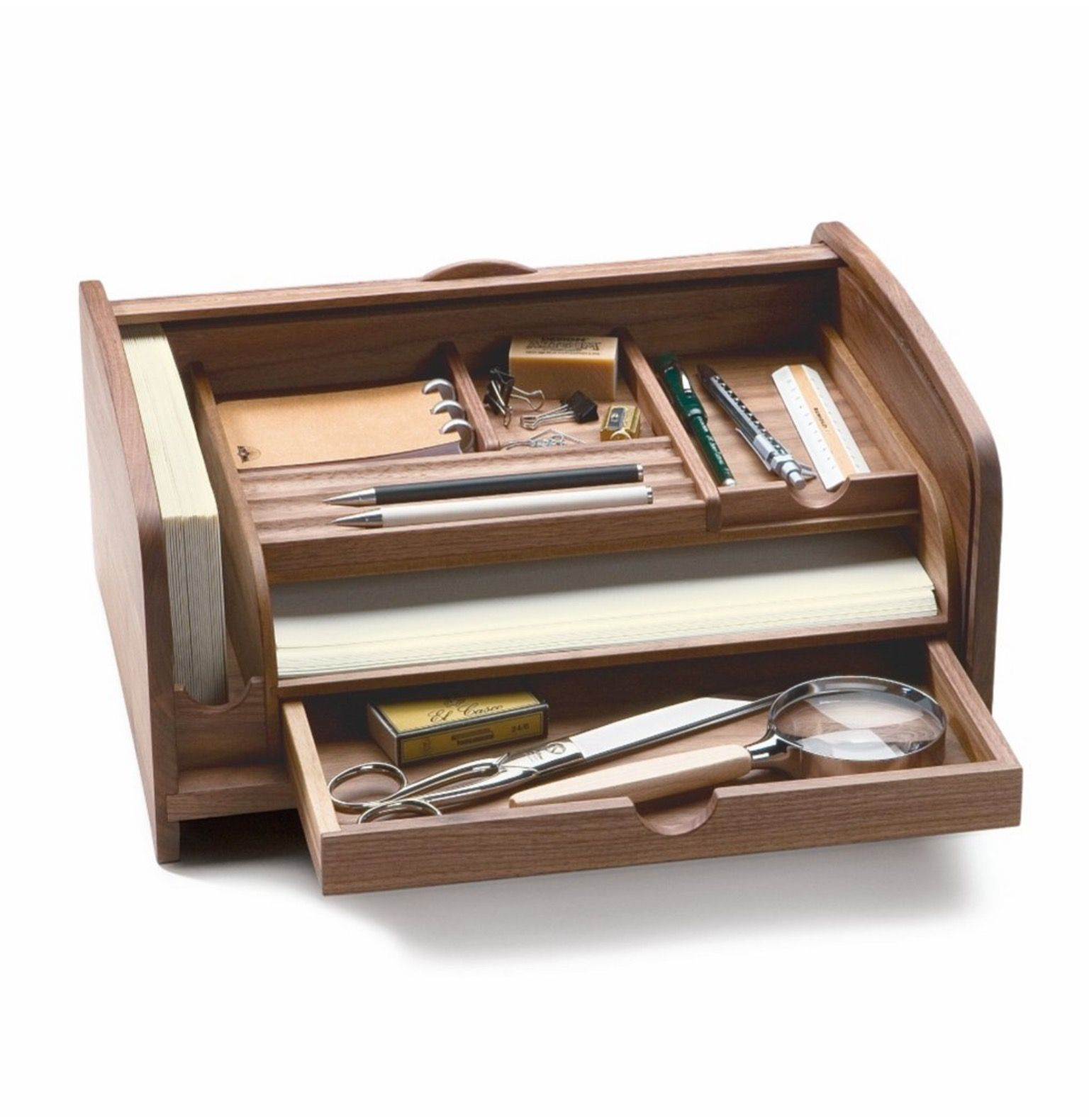 Pin By Servais On Desk Bureau Accessories Walnut Desks Desk Organization Woodworking