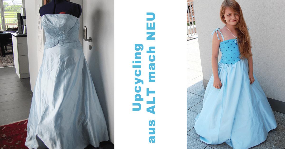 Was kann man aus einem alten Abendkleid noch machen