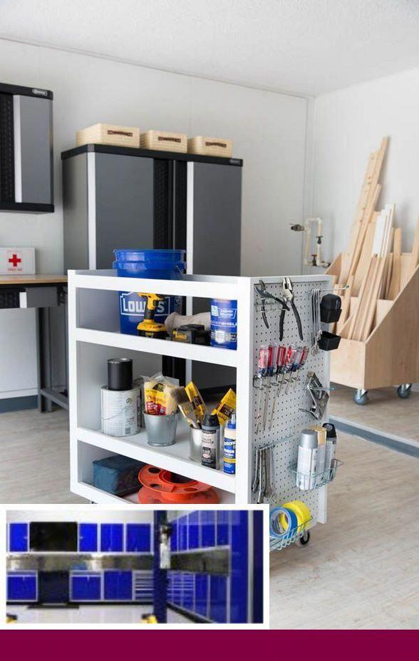 Custom Garage Storage Organization Ideas And