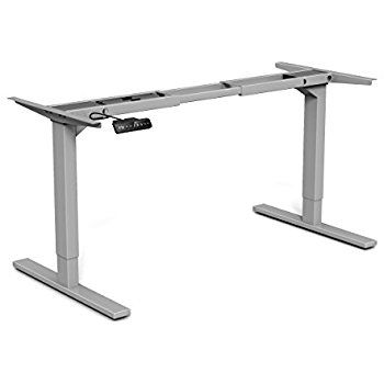 Amazon.com: MultiTable Hand Crank Height Adjustable Standing Desk Base    Frame Only