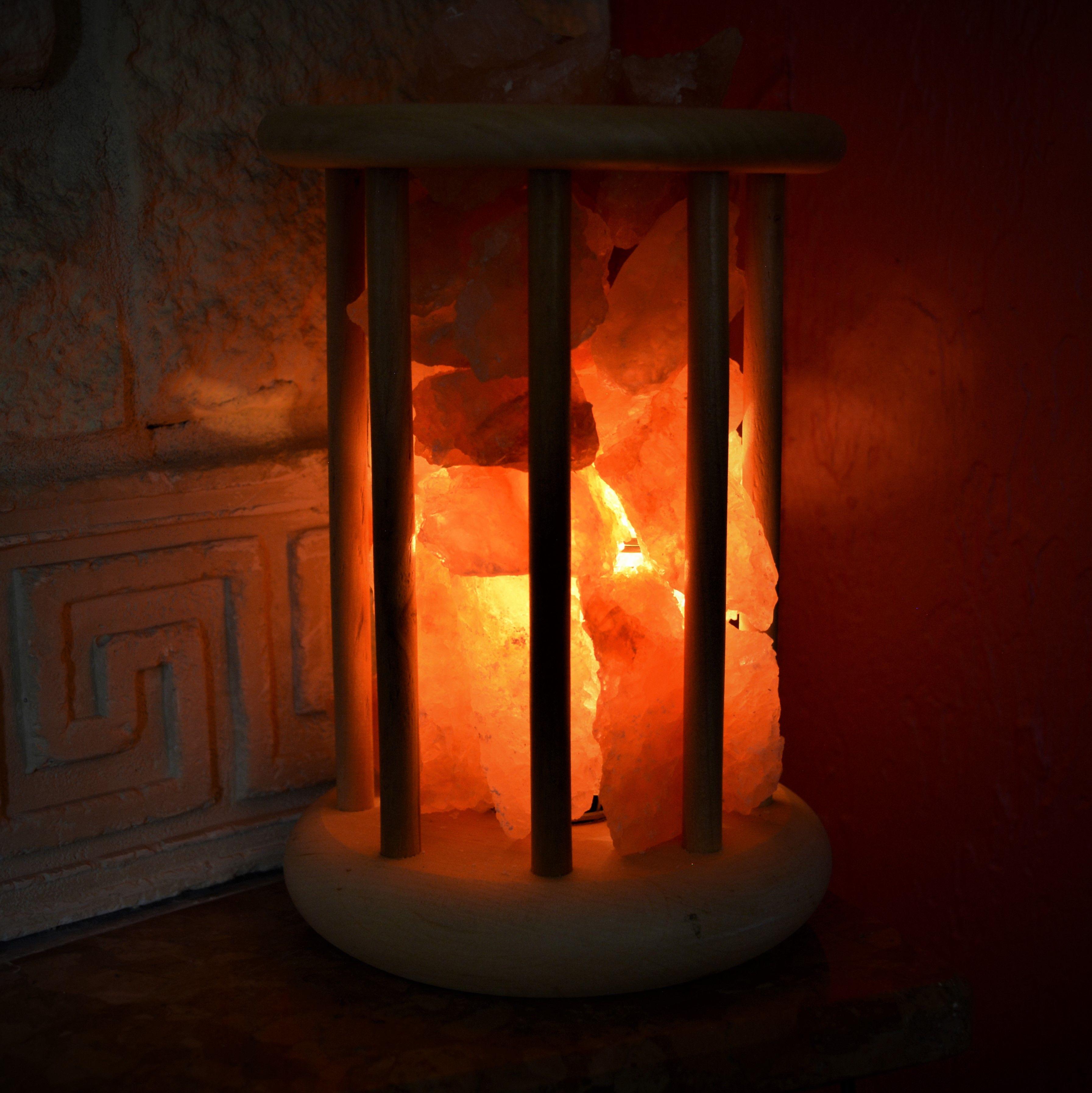 Lampa Solna Koszyk Jonizator 2 3kg Sol Klodawska 8105522948 Oficjalne Archiwum Allegro Candle Sconces Salt Lamps Wall Lights