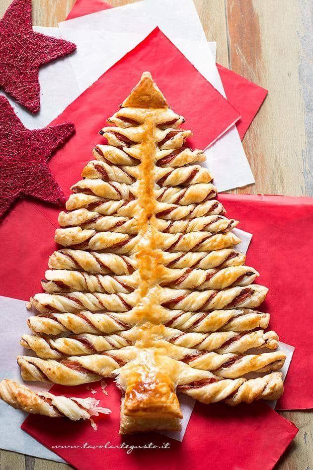 Albero Di Natale In Pasta Sfoglia Ipasvialessandria