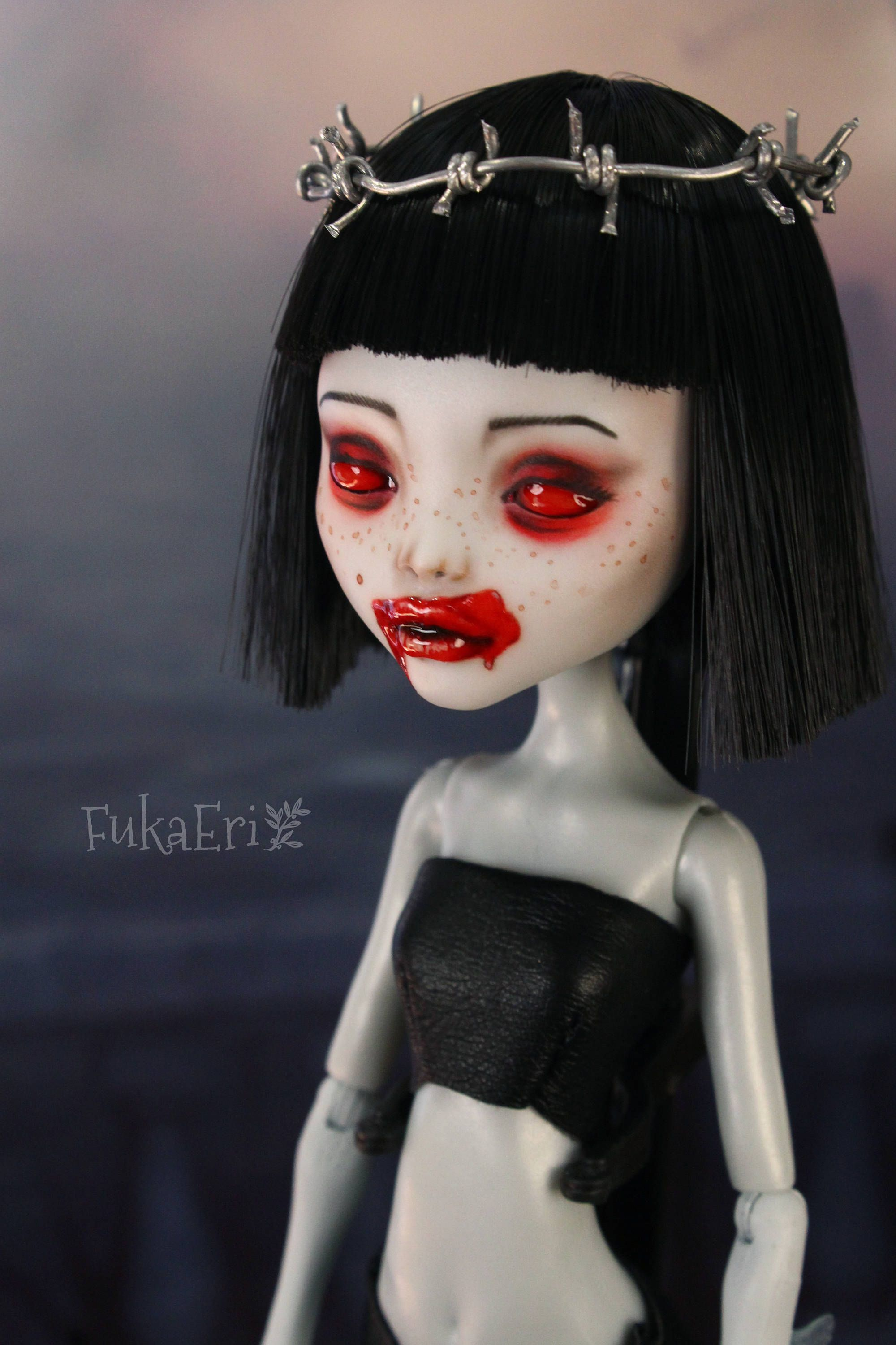 This Is Customized Monster High Doll I Removed Her Factory Hair