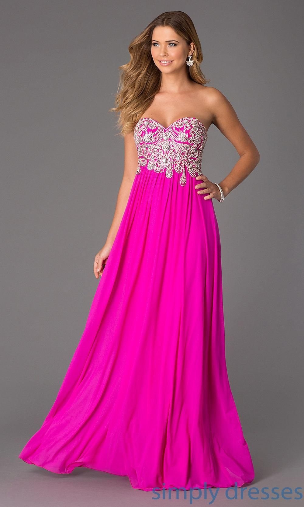 Jvn by jovani beaded sweetheart long gown jvn brought to you