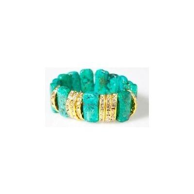 Beaded Bracelet With Rhinestone