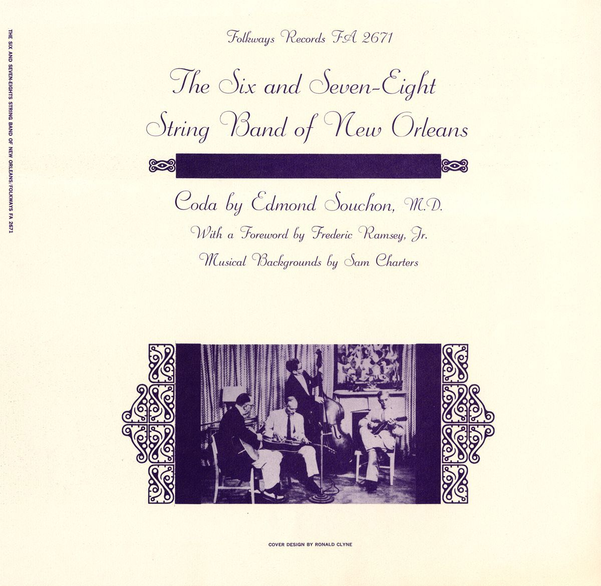 Various - Six and Seven-Eights String Band of New Orleans, Silver