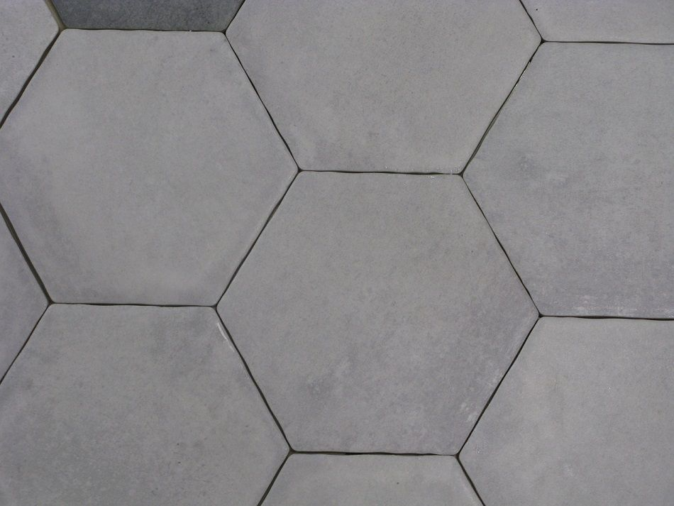 Carrelage hexagonal sol et mur 15x15 cement durstone for Carrelage sol interieur 60x60