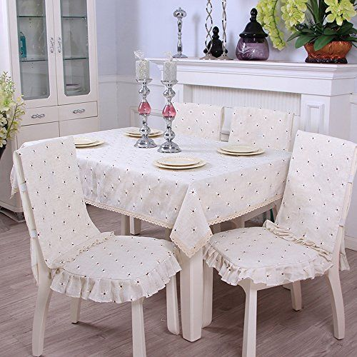 Yazi Country Rustic Embroidery Cutwork Lace Dining Table Cloth Amusing Dining Room Tablecloths Decorating Design