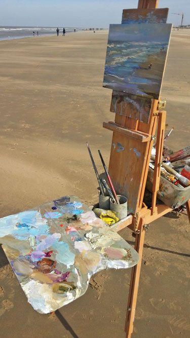 Sunny Morning Seascape - Zeegezicht | Painting, Underwater ...