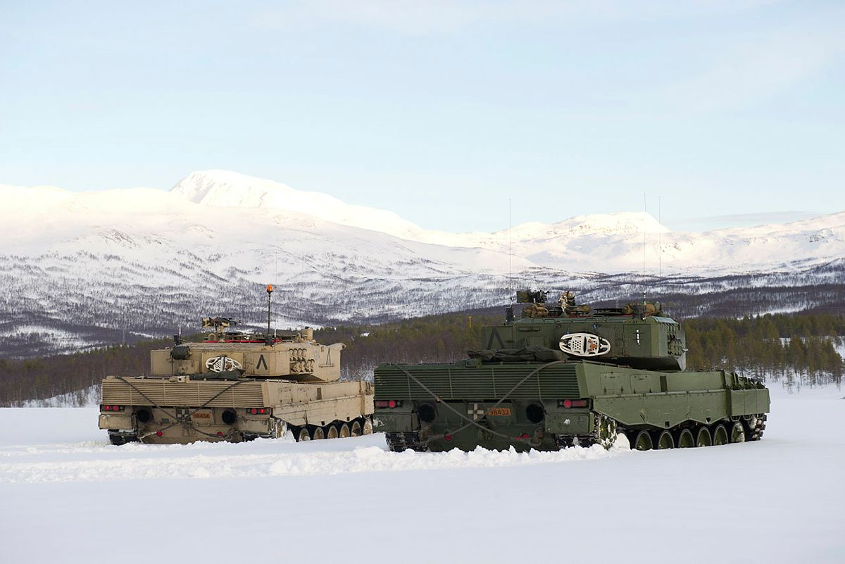 Leopard 2 - from Telemark Batallion during winter exercise Cold Response 2012, Photo: Ole-Sverre Haugli