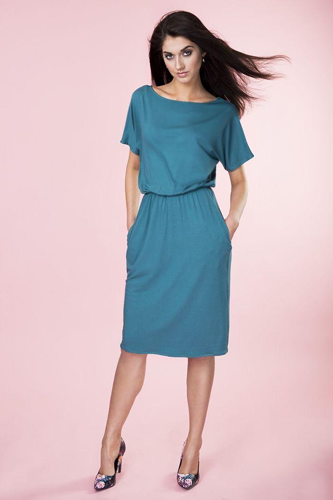 Uniwersalna sukienka z kieszeniami PROVANCE - Kasia Miciak Design ...