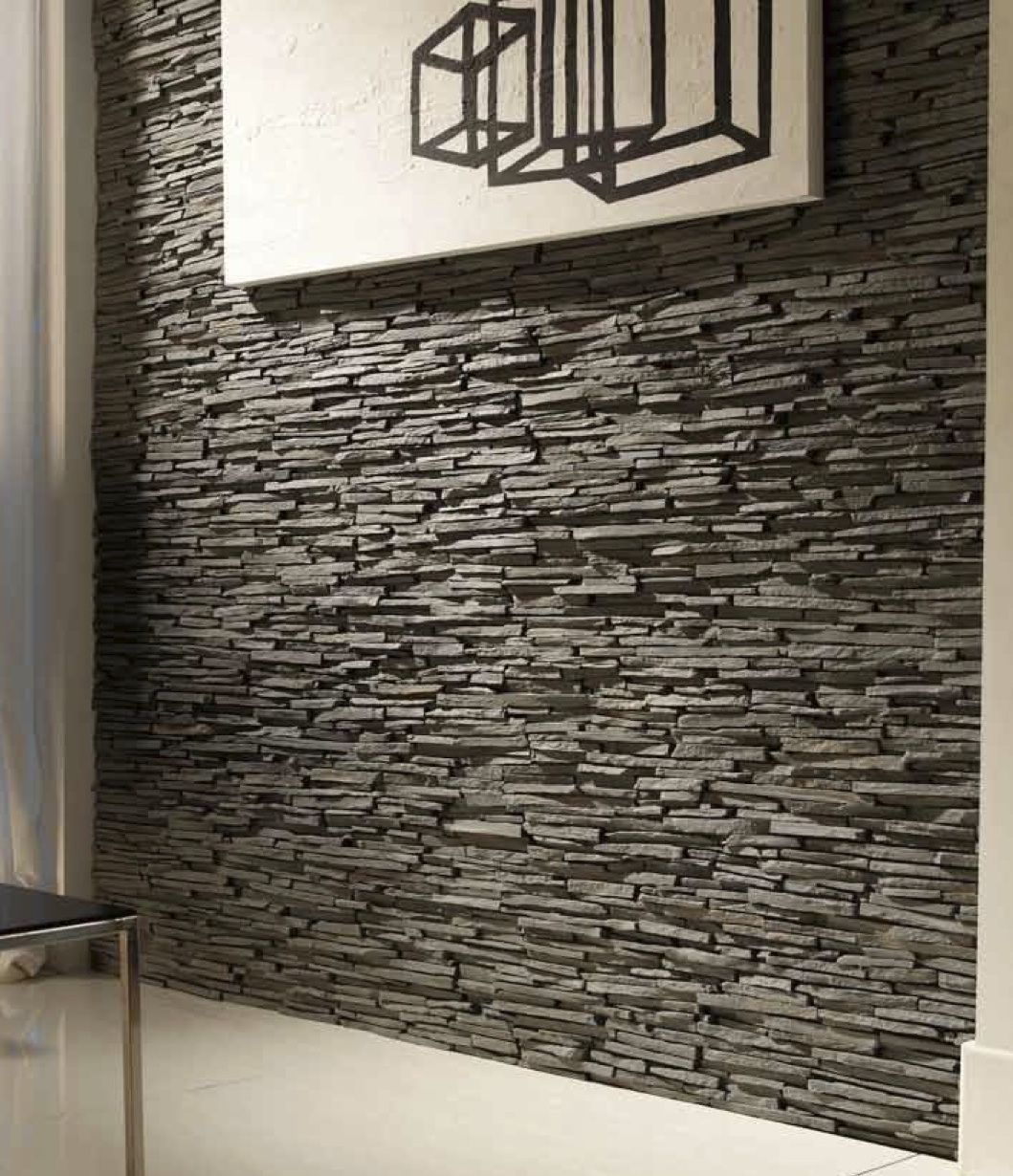 Faux Stone Wall Interior   Google Search