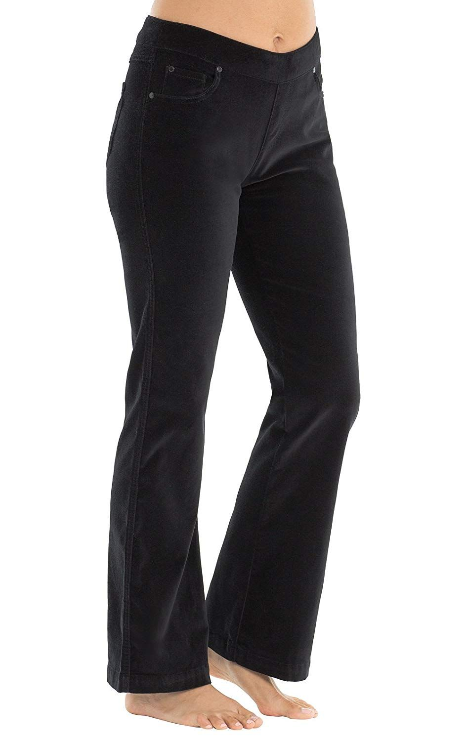 Pajamajeans Women S Velvet Bootcut Pants Black See This Great Product This Is An Affiliate Link Pants Black Bootcut Jeans Women Jeans Pants For Women [ 1500 x 945 Pixel ]
