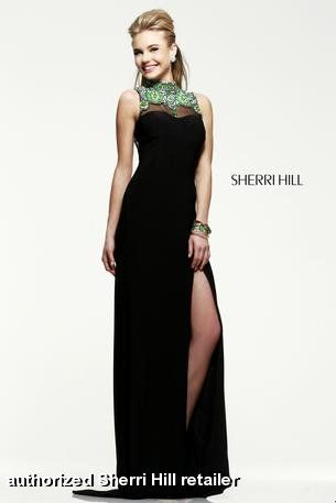 529ff015c690 Sherri Hill style 21370 at Bella Boutique in Knoxville, TN! | Prom ...