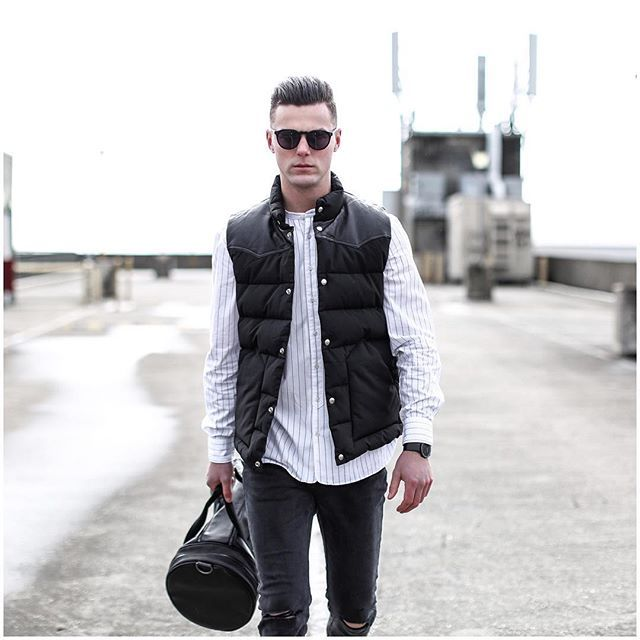 """WEBSTA @ shaun.lyle - Monochrome street style from the recent """"Rooftops"""" blog…"""