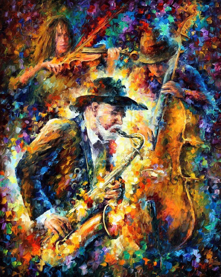 """Color analysis of """"endless tune"""" by leonid afremov"""